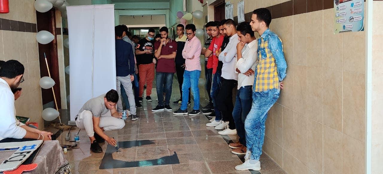 حفل استقبال الطلاب